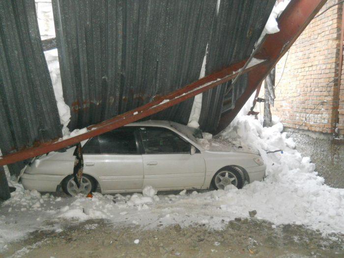 Снеговая нагрузка, фото